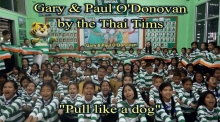 'Pull like a dog': Thai schoolchildren sing tribute to O'Donovan brothers