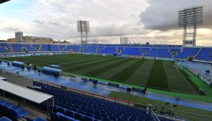 FC Zenit's Stadion Petrovski in St Petersburg. Photograph:   Alexander Fedorov/EuroFootball/Getty Images