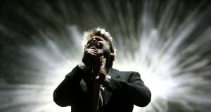 James Murphy from  LCD Soundsystem would like to cordially invite you to the Electric Picnic main stage at just after midnight on Saturday. Photograph: Estela Silva/EPA