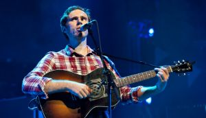 James Vincent Mcmorrow: one of the few artists here  to make the move from local hero to international act.  Photograph: Gamma Rapho/Getty Images