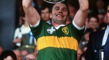 Kerry legend Paidi O'Se lifts Sam Maguire in 1985. Photograph: Billy Stickland/Inpho