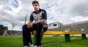 Kerry manager Eamonn Fitzmaurice puts it all on the line on Sunday. Photograph: James Crombie/Inpho