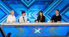 Louis Walsh, Sharon Osbourne, Nicole Scherzinger and Simon Cowell are at teh helm of this year's X-Factor. Photograph: Syco/Thames TV/PA