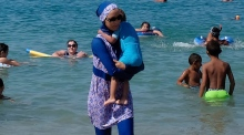 Sarkozy stands by his bid to ban burkini in France