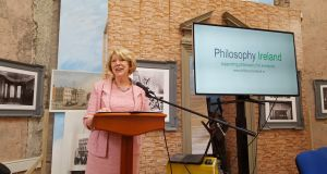 'Philosophy is a powerful preparation for the journey upon which young people will embark', Sabina Higgins told the launch of Philosophy Ireland at City Assembly House, South William Street, Dublin.