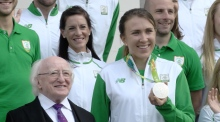 President Higgins calls for 'fearless responses' to Olympic controversy