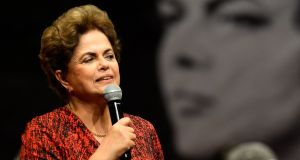Brazil's suspended president Dilma Rousseff will make her last stand this week. Photograph: Andressa Anholete/AFP/Getty Images