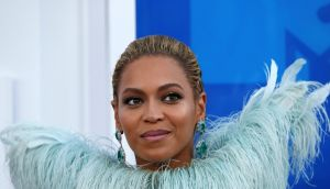 Singer Beyonce arrives at the 2016 MTV Video Music Awards in New York. Photograph: Reuters