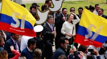 Colombia celebrates historic ceasefire with Farc