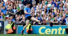 Diarmuid Connolly scores Dublin's final point in the  All-Ireland SFC semi-final win over Kerry  at Croke Park. Photograph: Donall Farmer/Inpho