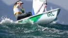 Annalise Murphy christens her Olympic boat