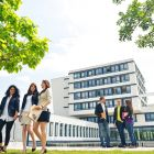 The first days in the new surroundings of college can be daunting for many students