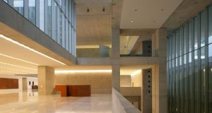 Sense of place: part of Grafton Architects' building for Bocconi University, in Milan
