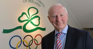 Pat Hickey, former president of the Olympic Council of Ireland. Photograph: Alan Betson