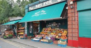 The colourful display of fresh produce bursting out of Roy Fox's was a much-loved sight in Donnybrook