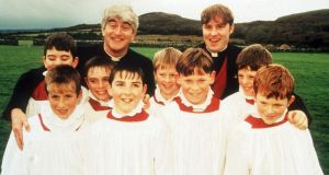 Three quotations from writers Graham Linehan and Arthur Mathews in the form of extracts from Father Ted make it in to the Oxford anthology – including the full opening verse of My Lovely Horse