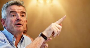 "Ryanair chief executive Michael O'Leary described  the EU's ruling in the Apple tax case as ""bizarre"". Photograph: Hannah McKay/EPA"