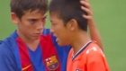 Barcelona under-12s remarkable sportsmanship goes viral