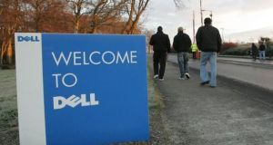 Dell is poised to secure its $63.4 billion purchase of EMC $63.4 billion, the largest-ever technology industry acquisition. Photograph: Alan Betson