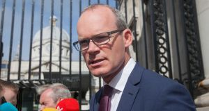 "Minister for Housing Simon Coveney described the European Commission's ruling on Apple's tax liability as ""very, very flawed"" and  said ""essentially what they are doing is retrospectively changing tax law"". File photograph: Gareth Chaney/Collins"