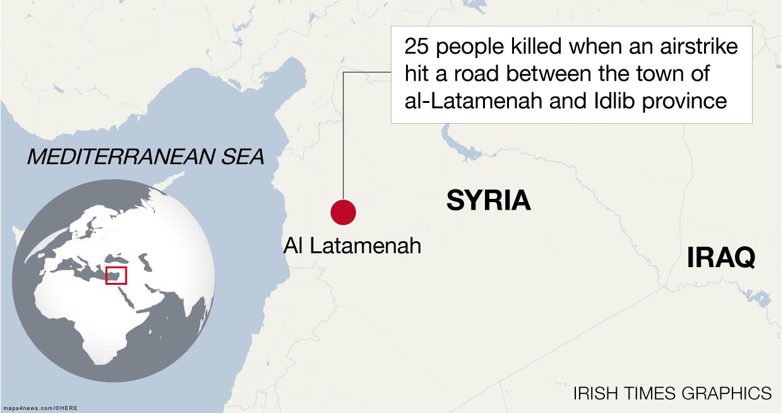 Syrian rebels capture strategic town of Halfaya