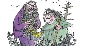 The Twits. Illustration: Quentin Blake, courtesy of the Roald Dahl Literary Estate