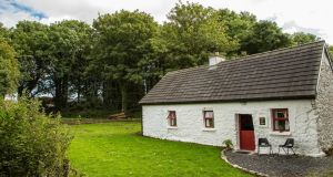Bob and Pat Cohan's cottage dating from about 1798 in Kilcolman, Claremorris, Co Mayo. Photograph: Keith Heneghan/Phocus