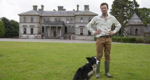 Lord of the manor: Thomas Cosby, the current owner of the Stradbally estate. Photograph: Alf Harvey/hrphoto.ie