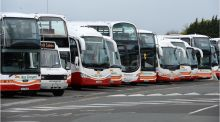 Bus Éireann introduced a seat-reservation trial on some routes in July. Photograph: Dara Mac Dónaill