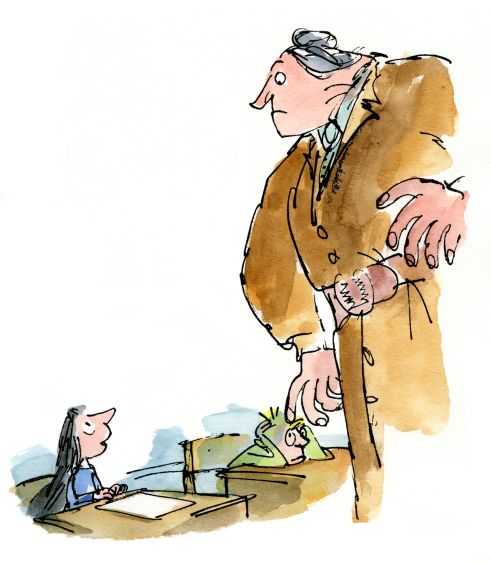 Image result for matilda quentin blake