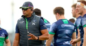 Pat Lam has named his starting XV for the opening game of Connacht's Pro 12 title defence against Glasgow. Photograph: Inpho