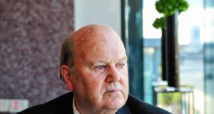 Finance Minister Michael Noonan: he will look closely at tax receipts as he plans the October budget. Photograph: Aidan Crawley/Bloomberg