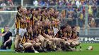 The Kilkenny team lining up before the 2010 final against Tipperary. OnlyTJ Reid and Eoin Larkin have made it through from the Kilkenny starters of that final to the 15 that will parade on Sunday. Photograph: Donall Farmer/Inpho