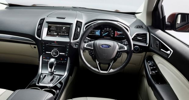 Ford Edge Has All The Imposing Stature Of A Broad Shouldered Yank