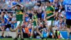 It's not the Kerry way to accept All-Ireland football semi-final defeat, however honourable, with a sense of relief . . . Watch them rise as one against this one. Photograph: Donall Farmer/Inpho