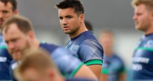 Cian Kelleher: to  make his competitive debut for Connacht. Photograph: James Crombie/Inpho