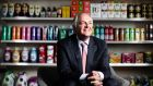Paul Polman, chief executive officer of Unilever NV: the company was up more than 4 per cent as consumer-related companies and utilities led the gains in Europe. Photographer: Simon Dawson/Bloomberg