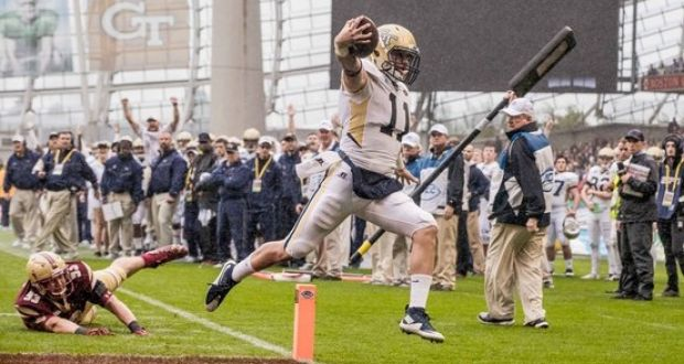 Controlled chaos as college football circus comes to Dublin
