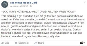 Image: Screenshot from White Moose Cafe Facebook page