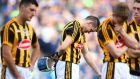 A dejected TJ Reid of Kilkenny after the game. Photo: Cathal Noonan/Inpho