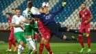 Darren Randolph made a number of key stops in Ireland's 2-2 draw with Serbia. Photograph: Reuters