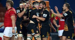 An under-strangth Wales were thrashed by the Waikato Chiefs during their summer tour to New Zealand. Photograph: Getty