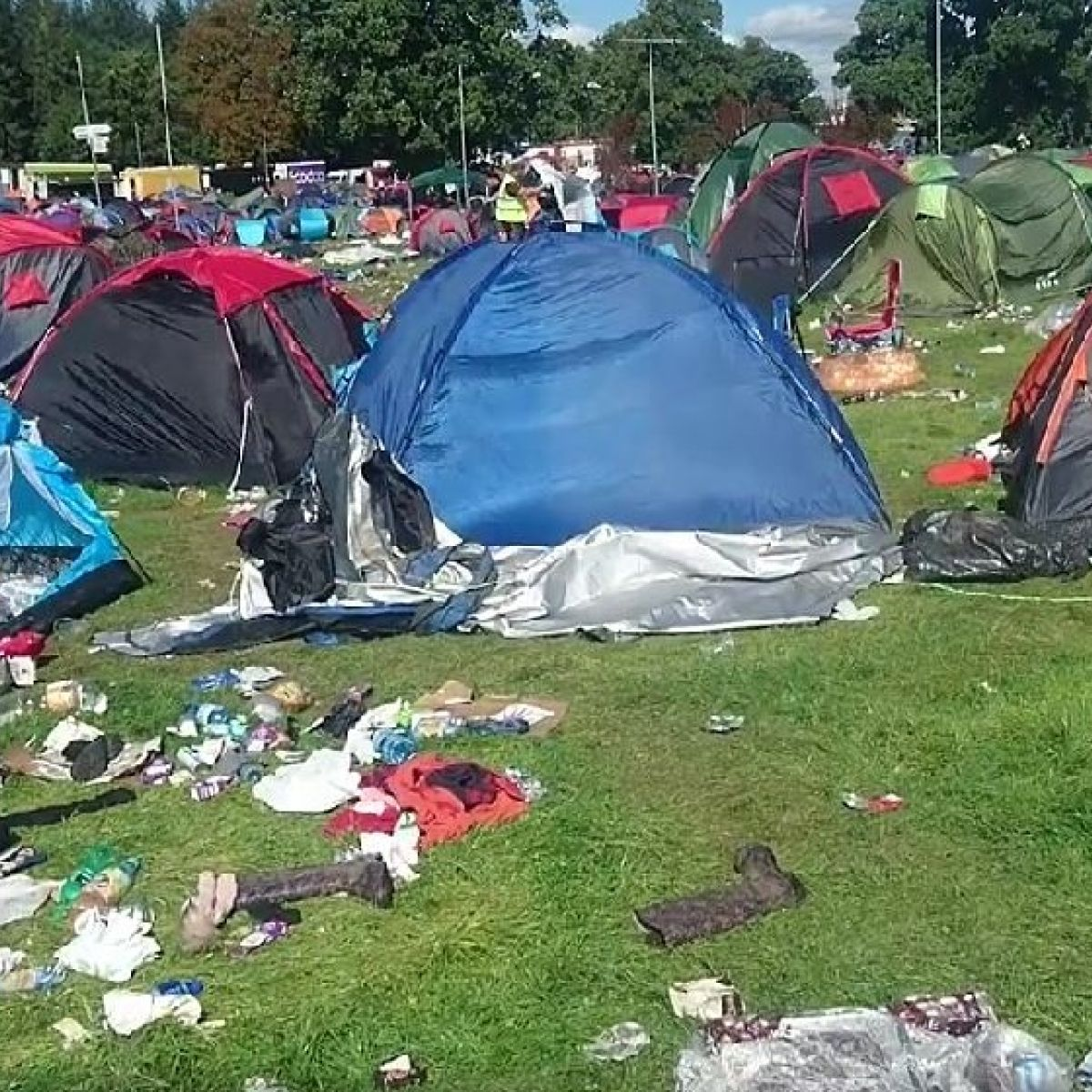 Charity Finds Most Tents Left At Electric Picnic Unusable