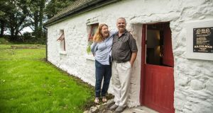 Pat and Bob Cohan at their cottage dating from around 1798 in Kilcolman, Claremorris, Co Mayo. Photograph: Keith Heneghan/Phocus