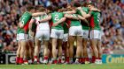 Mayo's age profile is a huge help to them. You look around that Mayo team and it's very hard to pick out a selfish player. Photograph: James Crombie/Inpho