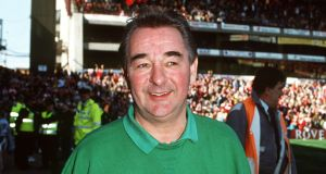 Brian Clough, one of the most successful Managers in British football took Derby County to the League Championship in season 1971-1972, Nottingham Forest to the League Championship in season 1977-1978 and perhaps his greatest achievement, the winning of the European Cup with Forest two years running in 1979 and 1980. Photograph: Bob Thomas/Getty Images