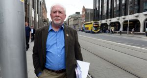 "Bill Mc Camley: ""We can and do get assaulted and have to manoeuvre buses in all types of situations."" Photograph: Eric Luke / The Irish Times"