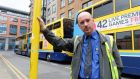 "Brendan Farrelly: ""Driving a bus is considerably more challenging than driving a Luas.""  Photograph: Eric Luke / The Irish Times"