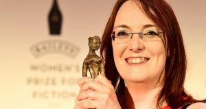 "Lisa McInerney with the prestigious Bailey's Women's Prize for Fiction for her debut novel,The Glorious Heresies, which she is to adapt for TV.  ""I'm so thrilled to be working with Fifty Fathoms and Julian Farino on adapting The Glorious Heresies for the screen. Champing at the bit, even,"" McInerney told The Irish Times. Photograph: PA"