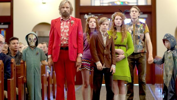 All for one: Viggo Mortensen and family in Captain Fantastic